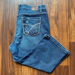 BKE Drew Crop Denim Size 36